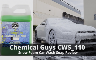 Chemical Guys CWS_110 Honeydew Snow Foam Car Wash Soap Review