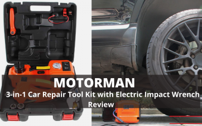 MOTORMAN Car Jack Tool Kit With Electric Impact Wrench Review