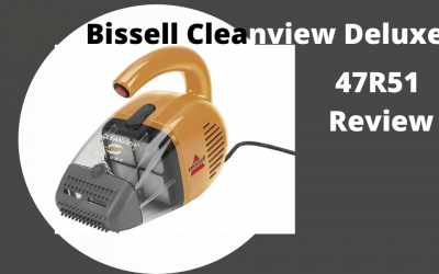 Bissell Cleanview Deluxe Corded Handheld Vacuum 47R51 Review