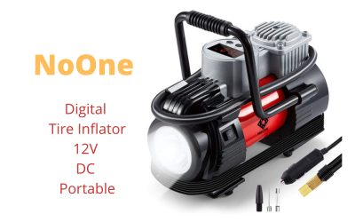 NoOne Digital Tire Inflator 12V DC Portable Review