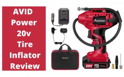 Avid Power Tire Inflator Air Compressor 20V Cordless Review