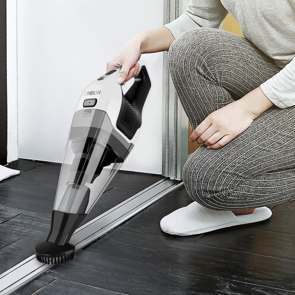 ONSON Hand Vacuum Cleaner Cordless with 14.8V Li-ion Battery
