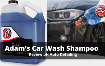 Adam's Car Wash Shampoo For Snow Foam Cannon Review