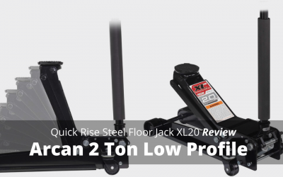 Arcan 2 Ton Low Profile Quick Rise Steel Floor Jack XL20