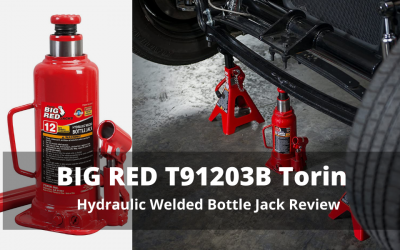 BIG RED T91203B Torin Hydraulic Welded Bottle Jack Review