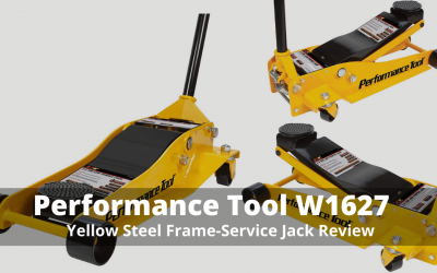 Performance Tool W1627 Yellow Steel Frame Jack Review