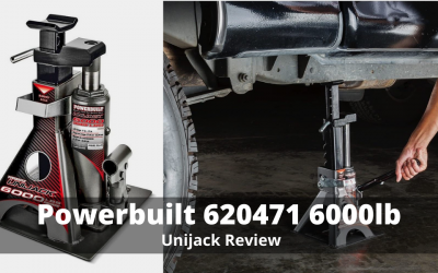 Powerbuilt 620471 6000lb, Unijack Review By Carparler