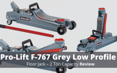 Pro-Lift F-767 Grey Low Profile Floor Jack – 2 Ton Review