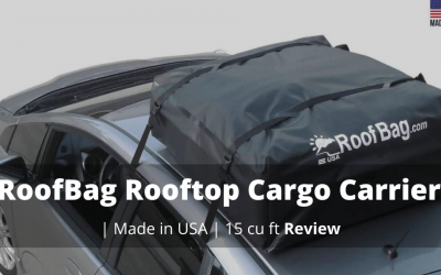 RoofBag Rooftop Cargo Carrier Bag – Made in USA ft Review