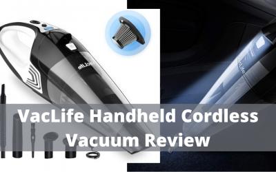 VacLife Handheld Vacuum Hand Vacuum Cordless Review