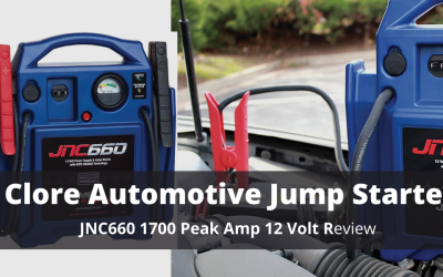 Clore Automotive 12 Volt JNC 660 Jump Starter Review