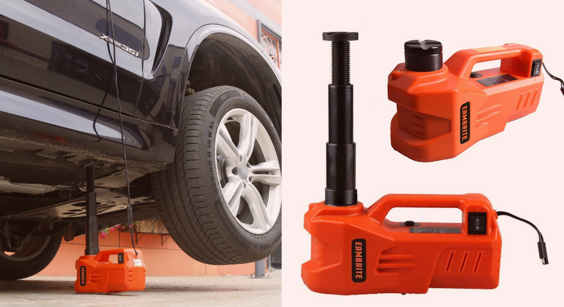 EAMBRITE 12V DC Electric Hydraulic Car Floor Jack with LED Light Review