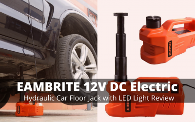 EAMBRITE 12V DC Electric Hydraulic Car Floor Jack Review