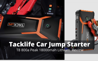 Tacklife T8 800a Peak 18000mah Lithium Car Jump Starter Review