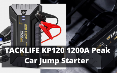TACKLIFE KP120 1200A Peak Car Jump Starter Review