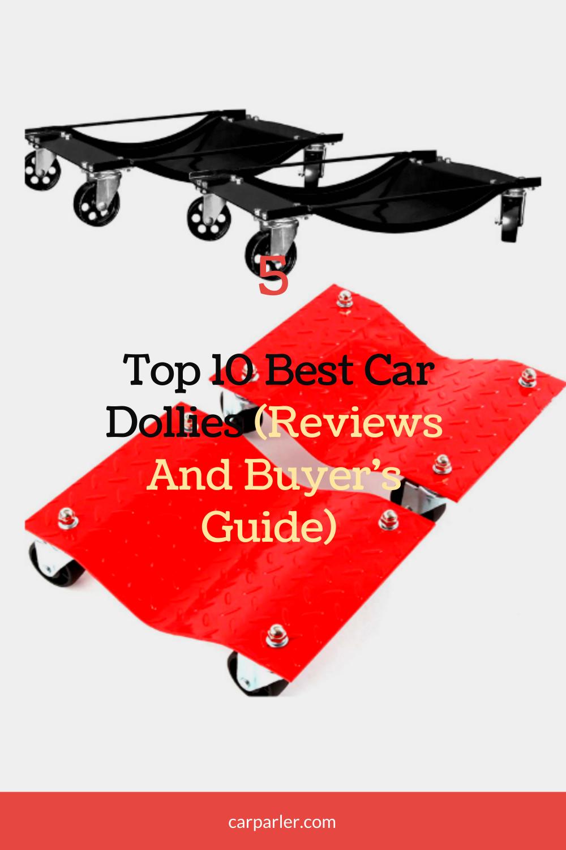 best heavy duty car dolly SET