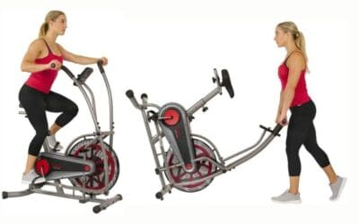 Sunny Health & Fitness Air Bike Fan Exercise Bike Review