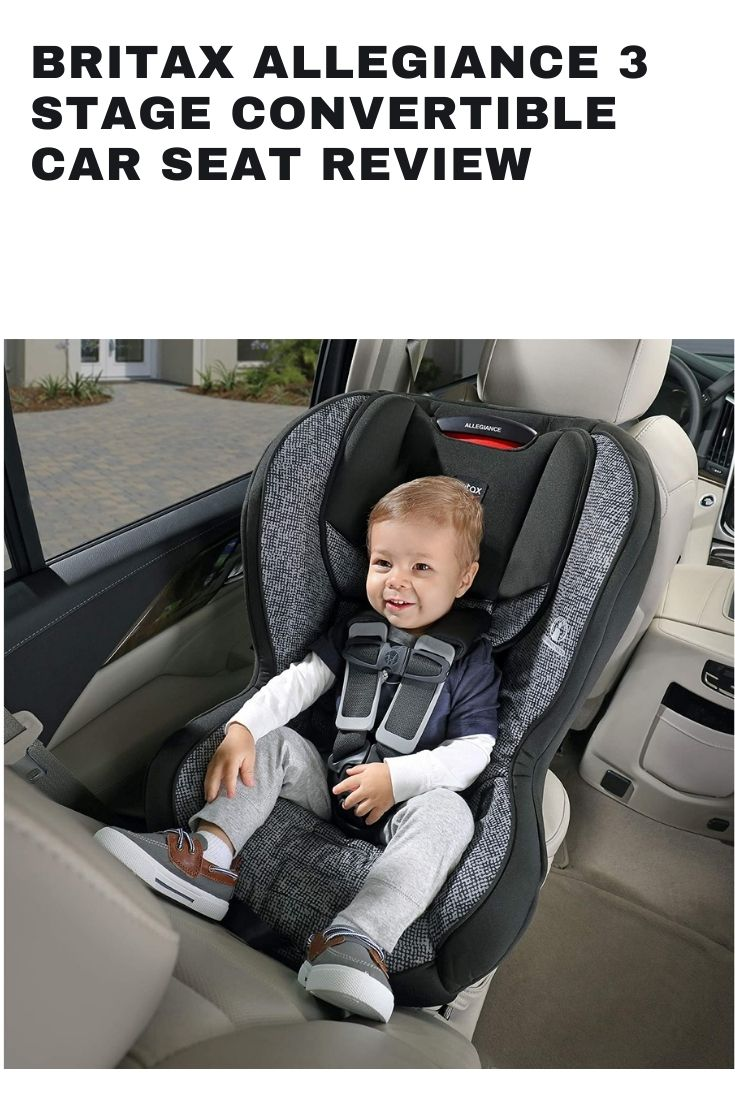 Britax Allegiance 3 Stage Convertible Car Seat 1 Layer Impact Protection - Rear & Forward Facing