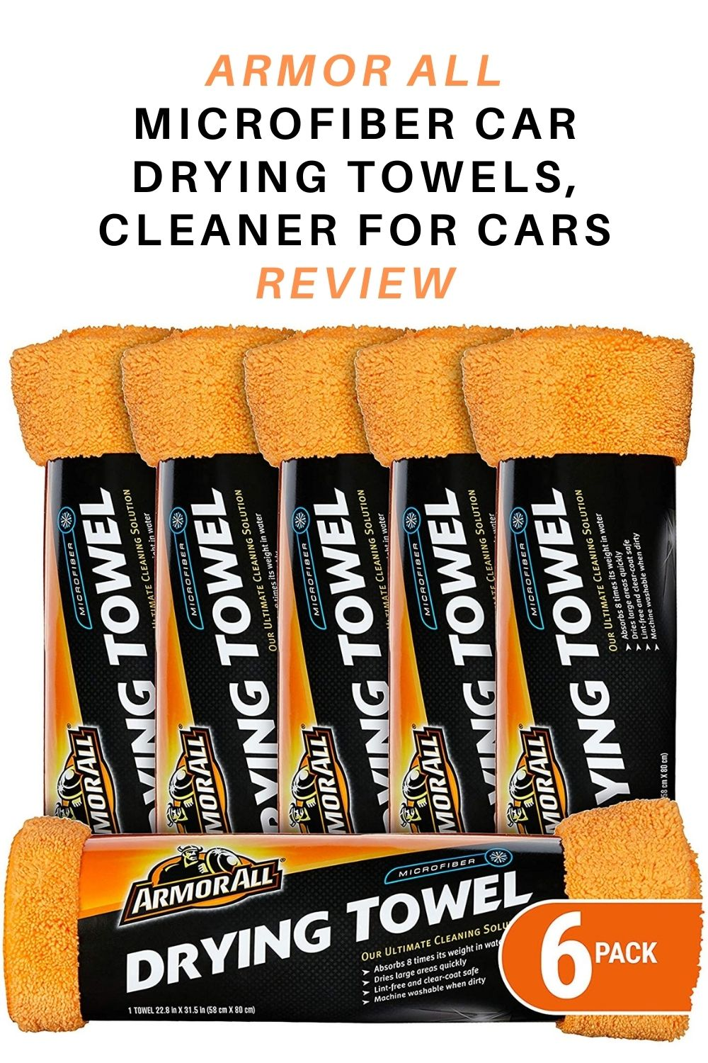 Armor All Microfiber Car Drying Towels, Cleaner for Cars Review