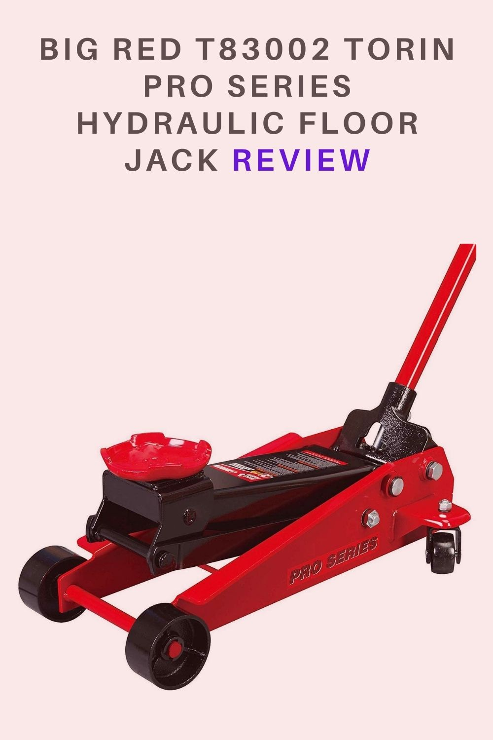 BIG RED T83002 Torin Pro Series Hydraulic Floor Jack  Red Review