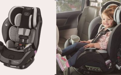 Evenflo EveryStage DLX All-in-One Convertible Car Seat Review