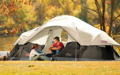 Coleman 8-Person Tent for Camping Red Canyon Review